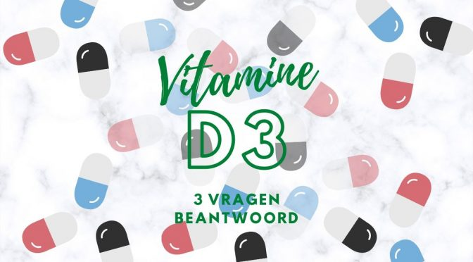 Vitamine d3 bij multiple sclerose (MS)